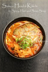 kimchi soup salmon fish head recipe maeuntang korean hot chili fish stew broth