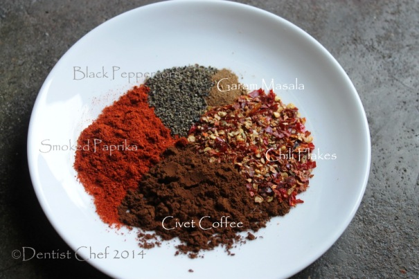 recipe coffee chili rubbed steak beef  ribeye cofee crusted