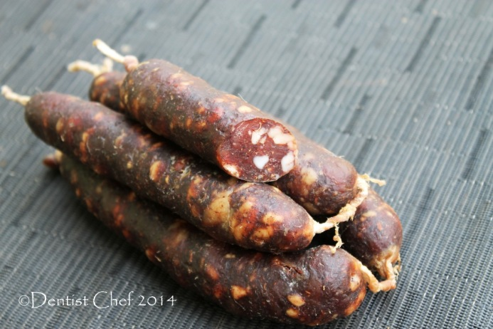 recipe homemade lap cheong how to make waxed chinese sausages dry ...