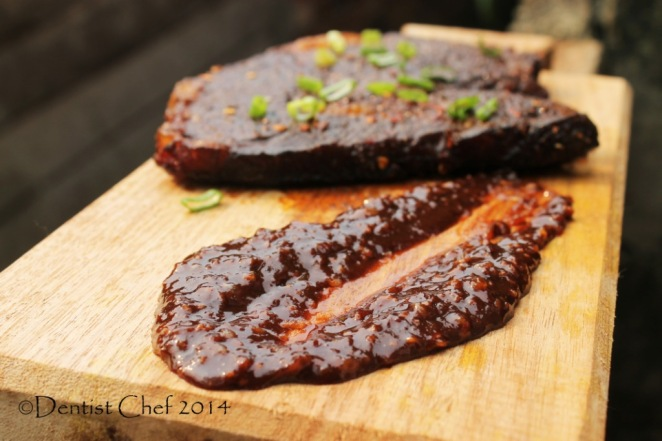 recipe savoury chocolate sauce recipe for beef steak coffee chili rubbed ribeye