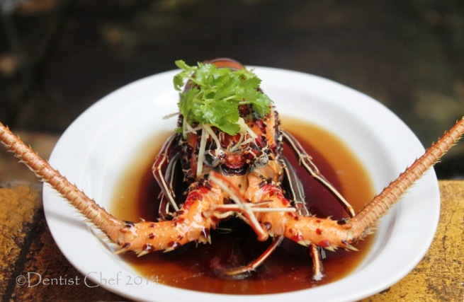 recipe steamed lobster garlic ginger soy sauce easy chinese style steamed bamboo lobster bambu