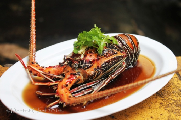 recipe steamed lobster with ginger garlic soy sauce chinese style lobster cantonese