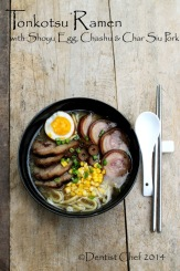 recipe tonkotsu ramen pork bone broth soup homemade chashu pork belly shoyu soft boiled egg