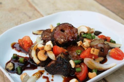 resep sate buntel kambing khas solo sambal kecap rawit kacang acar bawang bombay resep