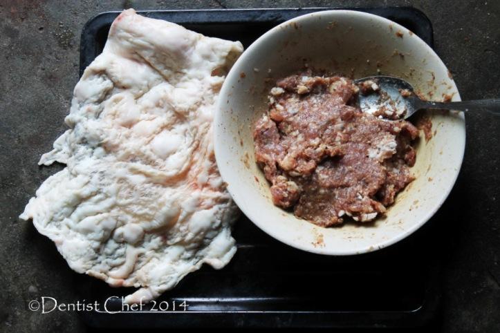resep sate buntel kambing solo sate daging cincang lemak perut kambing