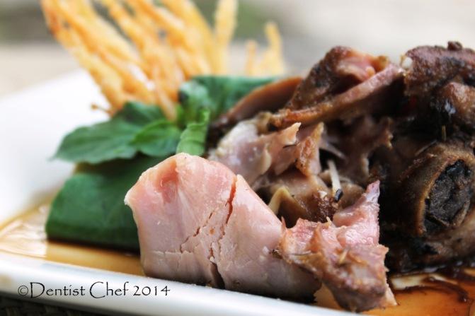 tender turkey leg confit recipe moist meat herbs rosemarry thyme