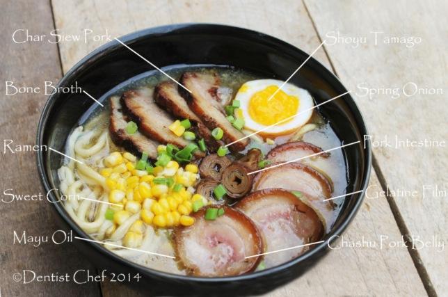 tonkotsu ramen topping recipe tamago soft boiled egg soy sauce pork belly chashu japanese noodle pork soup