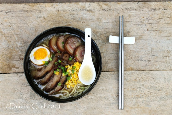 tonkotsu ramen with chashu recipe japanese pork bone noodle with braised pork belly soy sauce egg soft boiled