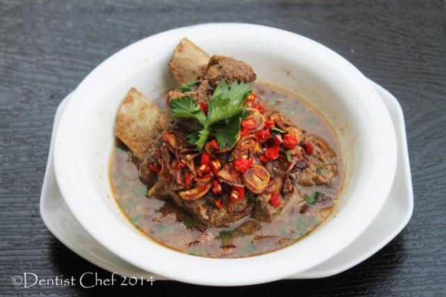 beef ribs soup peanut resep sup konro masakan makassar sop iga sapi kacang tanah