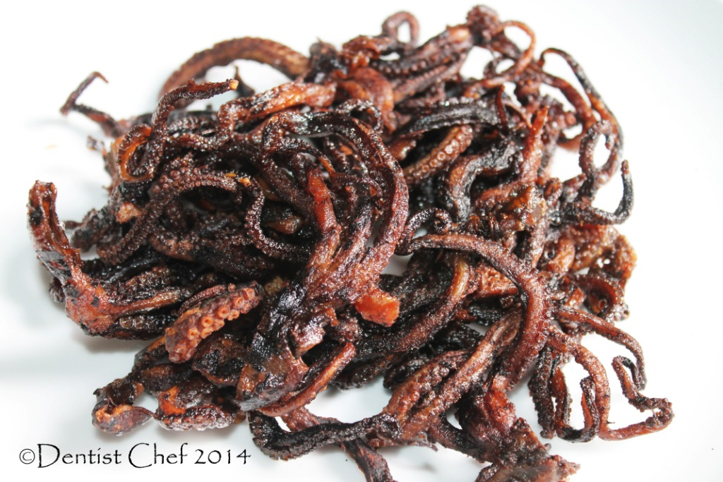 Recipe Stewed Octopus in Spicy Tauco Fermented Soy Bean ...