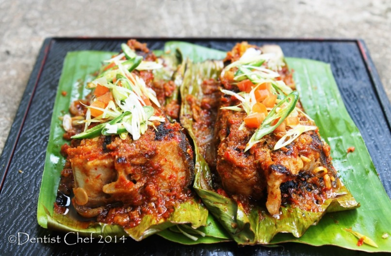 grilled stingray sambal chili sauce grilled skate firh fillet hot spicy malaysian style
