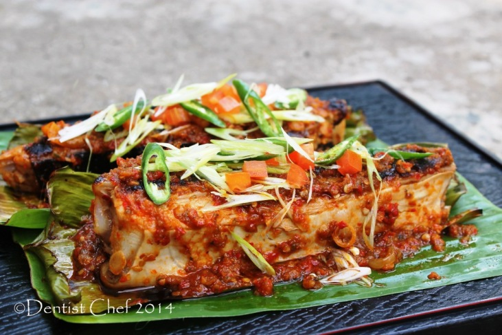 recipe grilled stingray sambal chili sauce barbequed skate stingray flatfish bbq