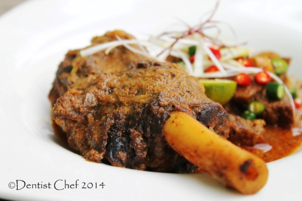 Recipe Mutton Vindaloo Curry with Lamb and Goat Shank ...