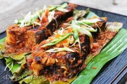 Recipe Sambal Stingray (Grilled Stingray-Skate with Chili Barbeque Sauce) Ikan Pari Bakar BumbuSambalPedas