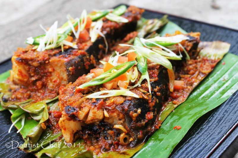 recipe sambal stingray grilled flat fish with chili sauce ikan pari bakar sambal terasi belacan