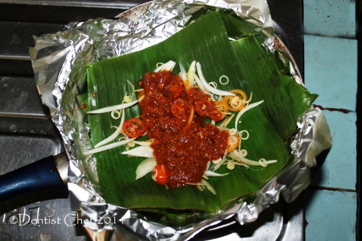recipe stingray sambal grilled skate how to barbeque stingray with chili sauce