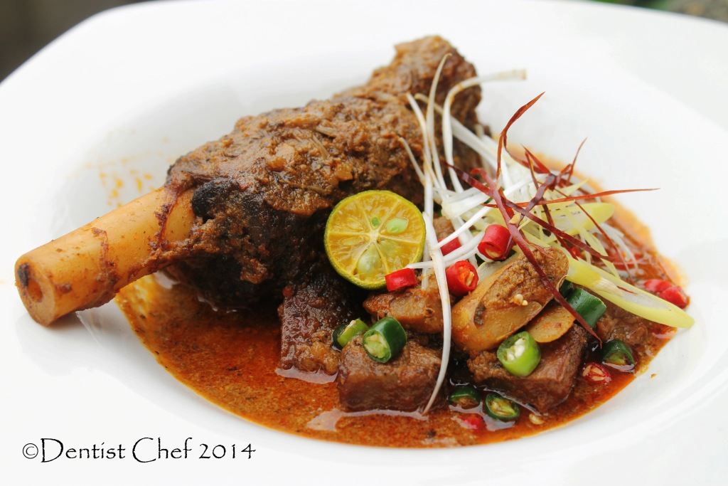 ... aceh india vindaloo curry goan mutton lamb shank coconut milk chili