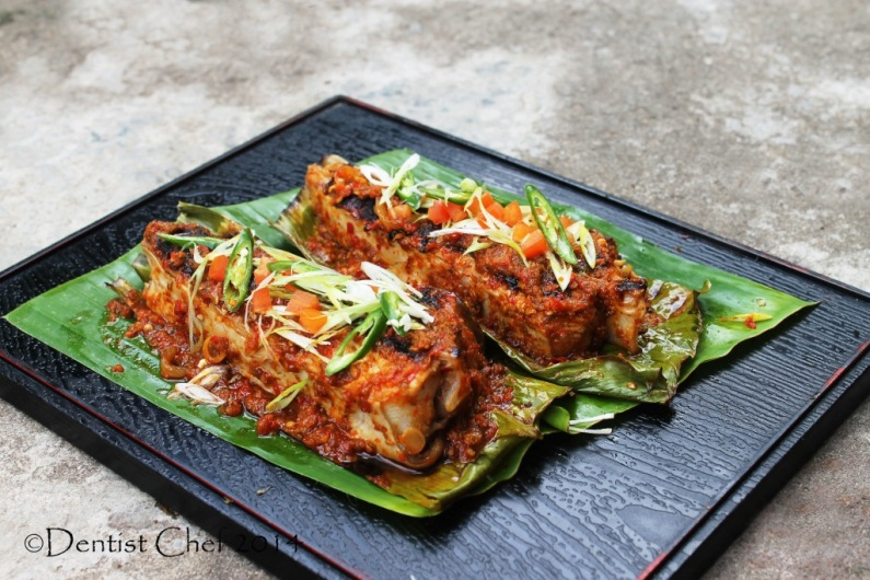 resep ikan pari bakar sambal stingray chili sauce recipe grilled skate fish
