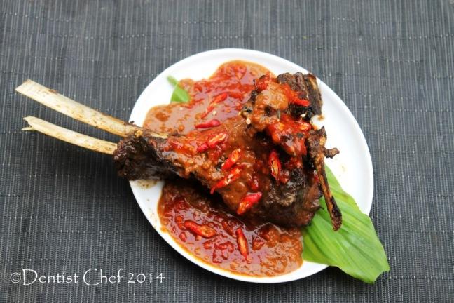 resep sop konro bakar masakan makassar bugis sulawesi selatan iga sapi bakar bumbu kacang
