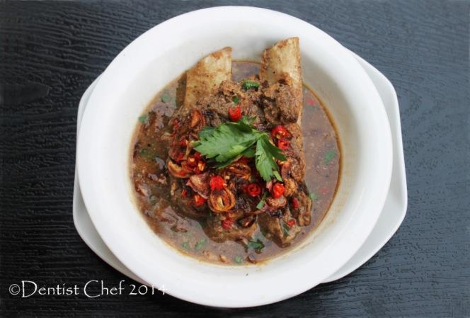 resep sup konro iga sapi karebosi makassar beef ribs peanut sauce