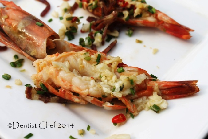 steamed prawn with garlic ginger chili xo sauce recipe steam shrimp
