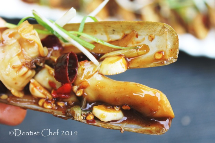 razor clams oyster sauce recipe stir fried bamboo clams jack knife clams razor shell chinese style