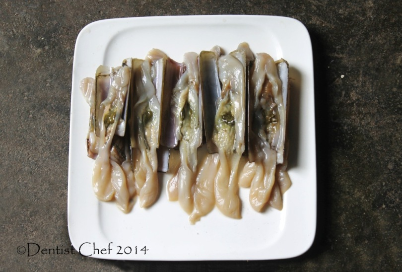 razor clams recipe how to clean pacific razor clams bamboo clams jacknife clam discard mud green
