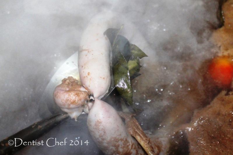 recipe pig intestine sausage boiled pork sausage broth stew recipe homemade sausage