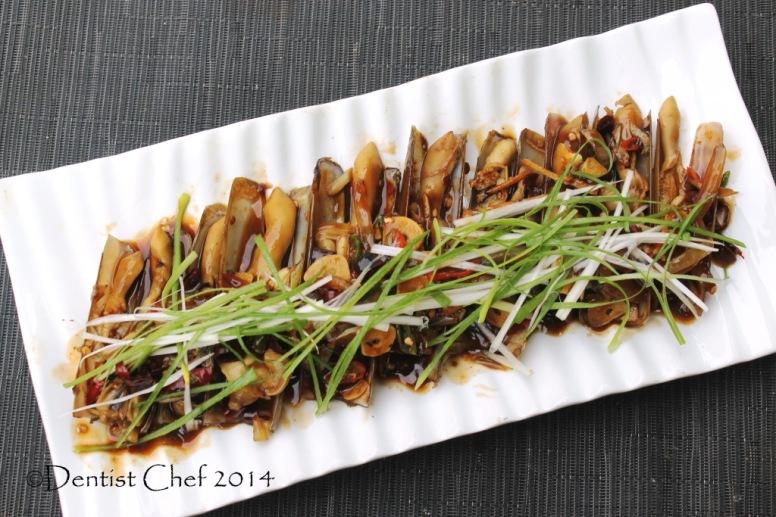 resep kerang bambu saus tiram oyster sauce razor clams stir fried bamboo clams jackknife clams