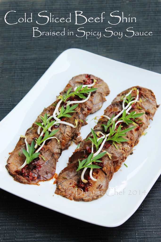 braised beef shin recipe chinese style slow cooked shank tender cold sliced thin beef