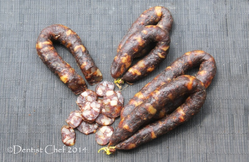 homemade chorizo spanish sausage recipe dry cured pork intestine casing sausage