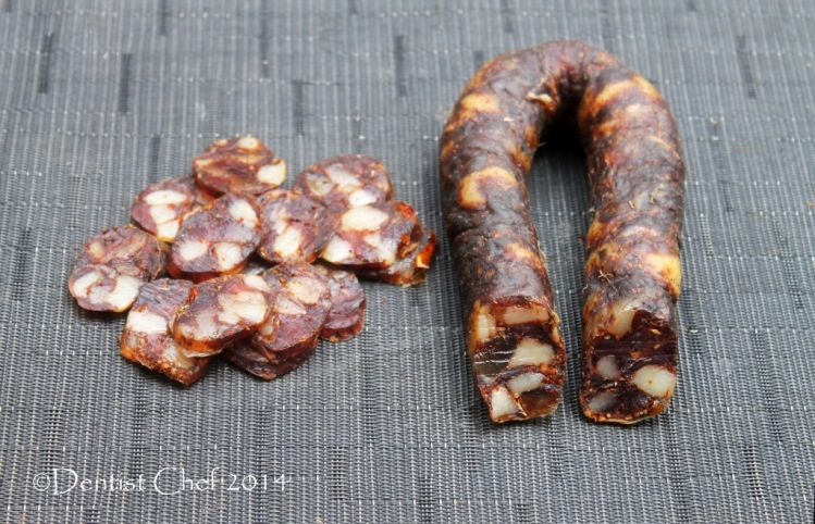 how to make chorizo sausage smoked paprika pork intestine casing sauage dry curing sausage charcuteries chili pork