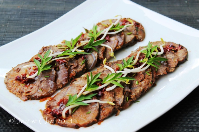 Recipe braised beef shin soy sauce beef shank chinese style beef cold appetizer
