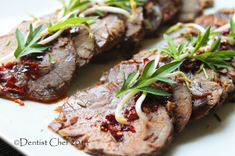 recipe slow cooked beef shank tender sliced beef shin soy sauce chili chinese style beef recipe