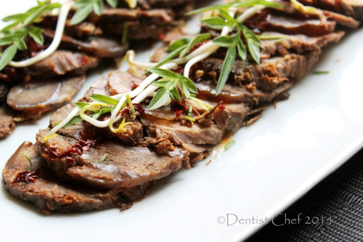 slow cooked beef shank recipe thin slice cold appetizer beef shin soy sauce chinese style