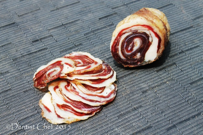 lamb belly pancetta rolled dry cured lamb