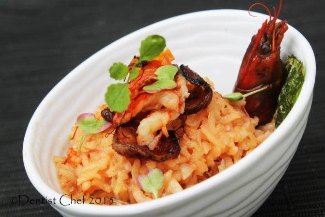 lobster risotto saffron recipe crayfish risotto brown rice italian rice risotto tomato chorizo