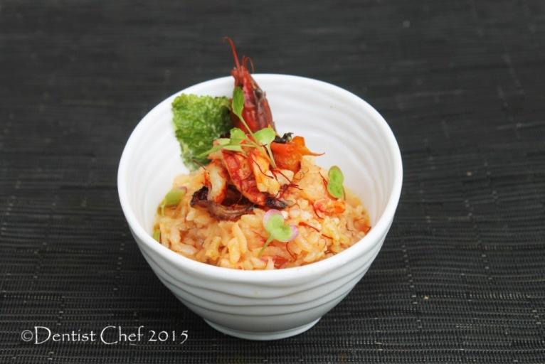 recipe lobster risotto saffron tomato sun dried tomato rice risotto crayfish risotto crawdad mudbugs recipe