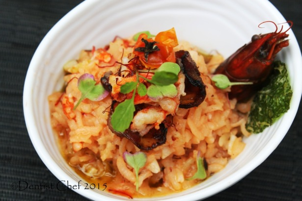 recipe lobster tomato risotto saffron italian rice crayfish stew