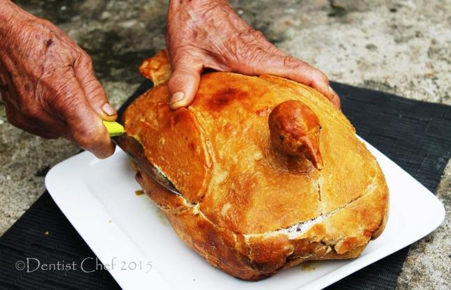 recipe salt crust chicken baked chicken wrapped salt dough beggar chicken style ayam betutu