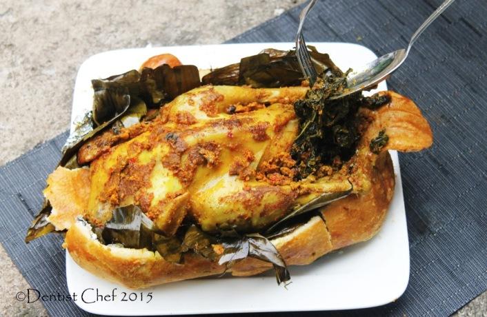 resep ayam betutu masakan bali oven ayam bakar bumbu pedas Gianyar gilimanuk