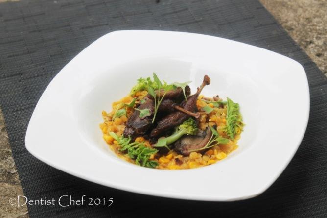 resep burung puyuh goreng garing bumbu kuning crispy deep fry quail confit recipe