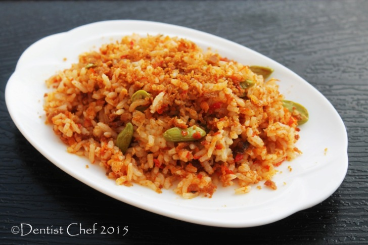 fried rice bottarga sit fry spicy rice salted fish egg roe cured karasumi rice don