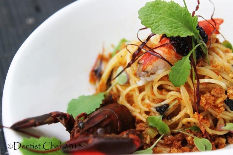 pasta bottarga di tonno aglio olio spaghetti botargo tuna egg roe