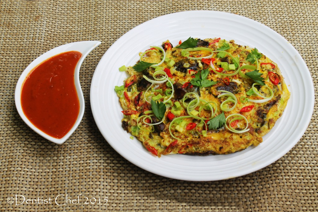 Oyster Omelette Fried Egg