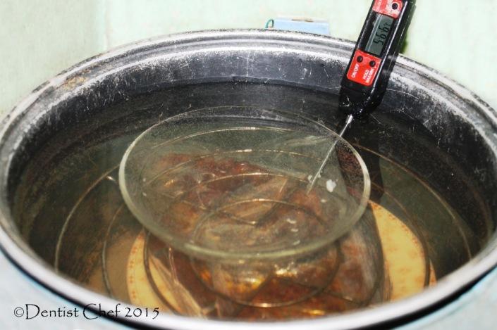 sousvide beef steak rice cooker beef brisket 24 hours 57 Celcius sous vide
