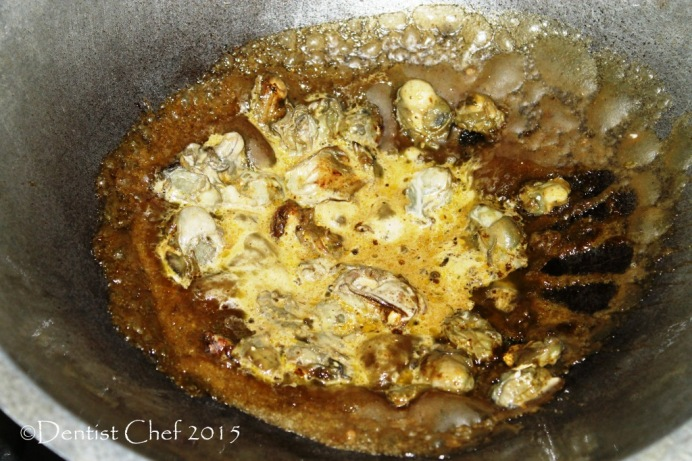 step by steap oyster omelette recipe o chien hao jian orh luak fried egg