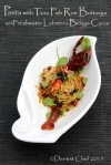 bottarga sauce spaghetti pasta alla botarga di tonno salted tuna fish roe aglio olio pasta crayfish confit sousvide