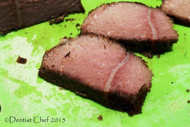 recipe venison sous vide 36 hours slow cooked reindeer meat tender moist