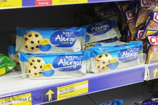 Tropikana Slim Alergon Cookies Gluten Free biskuit aman alergi anak autis adhd